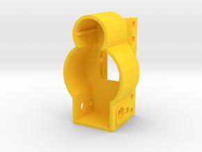 MP5 AEG Receiver Picatinny Mount Adapter in Yellow Processed Versatile Plastic
