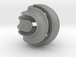 Nonasphericon Groove in Gray Professional Plastic