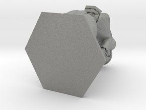 Cyborg n.9 PenStand/PenHolder in Gray PA12