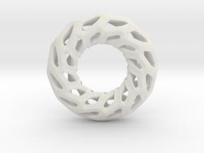 DRAGON, Omega Pendant in White Premium Versatile Plastic