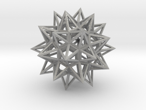 Stellated Truncated Icosahedron in Aluminum