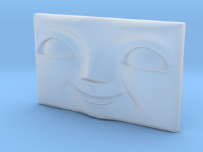 Rectangular Character Face - 27mm x 16.8mm (OO/HO) in Smooth Fine Detail Plastic