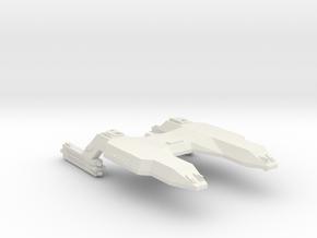 3788 Scale Lyran Running Tiger Fast Cruiser CVN in White Natural Versatile Plastic