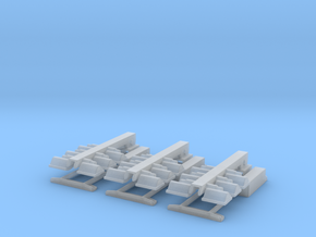 1/50 Light Tower set of 3 in Smooth Fine Detail Plastic