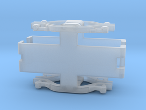 Aln 668 Bogie cover in Smooth Fine Detail Plastic
