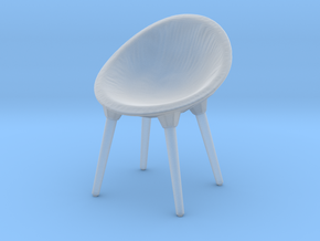Miniature Diesel Rock Chair - Moroso in Smooth Fine Detail Plastic: 1:12