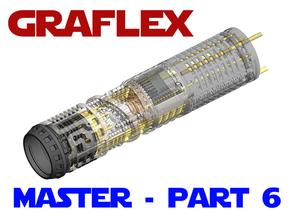 Graflex Master - Part 6 - Speaker holder in White Natural Versatile Plastic