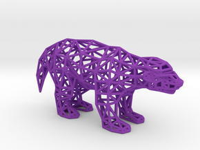 Ratel (adult) in Purple Processed Versatile Plastic