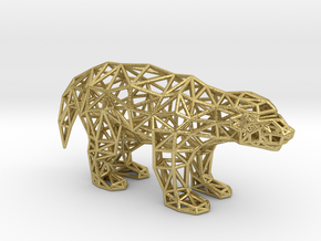 Ratel (adult) in Natural Brass
