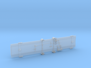 D&RGW Salida parlor car floor in Smooth Fine Detail Plastic