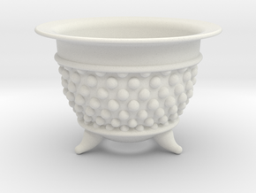Spotted Neo Pot 3in. in White Natural Versatile Plastic