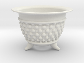Spotted Neo Pot 4in. in White Natural Versatile Plastic