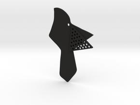 Bird  in Black Natural Versatile Plastic