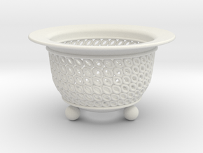 Neo Pot Ovals 3in.  in White Natural Versatile Plastic