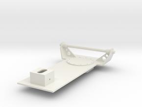 Katyusha 1:16 scale Base in White Natural Versatile Plastic