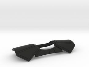 ARC Pauldron for 6 Inch  in Black Natural Versatile Plastic