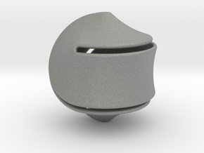 Sloped Hexasphericon Large & Hollow in Gray PA12