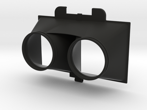 "NEODiVR ""Stealth"" Lens Housing (2 of 6) in Black Natural Versatile Plastic"
