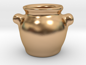 Tureen in Polished Bronze: 1:12