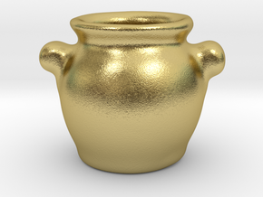 Tureen in Natural Brass: 1:12