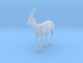 Thomson's Gazelle 1:12 Walking Male in Smooth Fine Detail Plastic