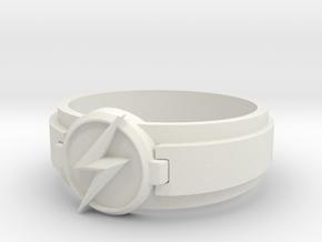 Kid Flash Ring size 10 in White Natural Versatile Plastic