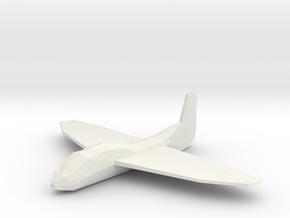 plane in White Natural Versatile Plastic