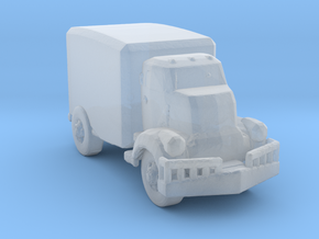 Jeeper's creeper Van v1 160  scale in Smooth Fine Detail Plastic