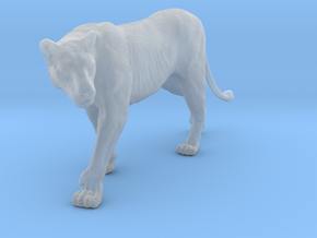 Lion 1:15 Walking Lioness 2 in Smooth Fine Detail Plastic