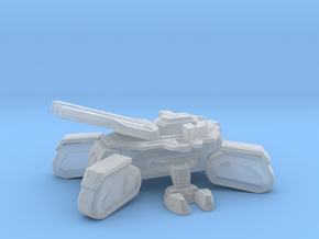 Starcraft Terran SiegeTank in Smooth Fine Detail Plastic