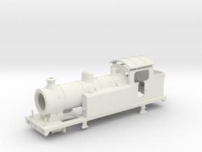 Lbscr E6-X OO Cabless V.1 in White Natural Versatile Plastic