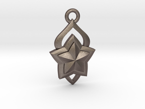 Star Guardian - Lux (Charm) in Polished Bronzed-Silver Steel