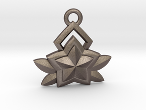 Star Guardian - Janna (Charm) in Polished Bronzed-Silver Steel