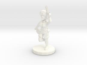 Witch Elf in White Processed Versatile Plastic