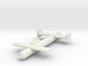 (1:144) Blohm & Voss L 950 V3 in White Natural Versatile Plastic