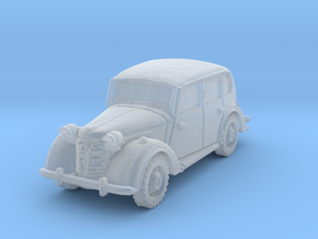 austin 10 staffcar scale 1/285 in Smoothest Fine Detail Plastic