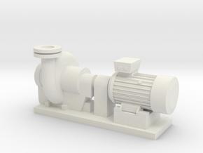 Centrifugal Pump #2 (Size 4) in White Natural Versatile Plastic