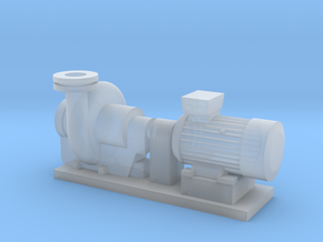 Centrifugal Pump #2 (Size 4) in Smooth Fine Detail Plastic