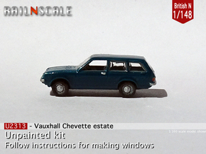 Vauxhall Chevette estate (British N 1:148) in Smoothest Fine Detail Plastic