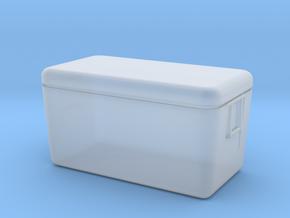 HO scale 65 quart cooler in Smoothest Fine Detail Plastic
