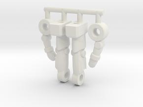 Inchnaut Inchman Limbs in White Natural Versatile Plastic
