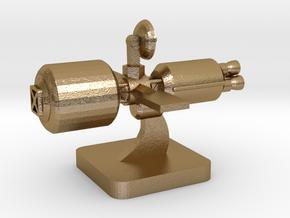 Mini Space Program, Interplanetary Ship 1 in Polished Gold Steel