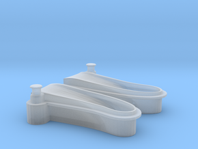 1/72 USN Windlass Foredeck v2 in Smooth Fine Detail Plastic