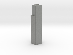 Four World Trade Center - New York (1:4000) in Gray PA12