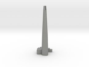 Lotte World Tower - Seoul (1:4000) in Gray PA12