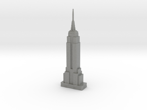 Empire State Building - New York (1:4000) in Gray PA12