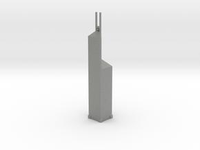 Bank of China Tower - Hong Kong (1:4000) in Gray PA12