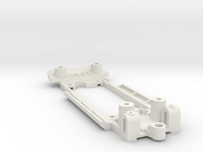 Chassis for Revell Ford Cortina Mk1 in White Natural Versatile Plastic