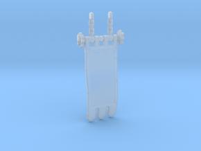 Knight Banner 2.4 in Smoothest Fine Detail Plastic