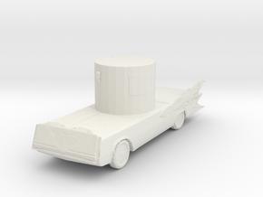 Deathmobile 160 scale in White Natural Versatile Plastic